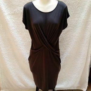 Paraphrase charcoal dress